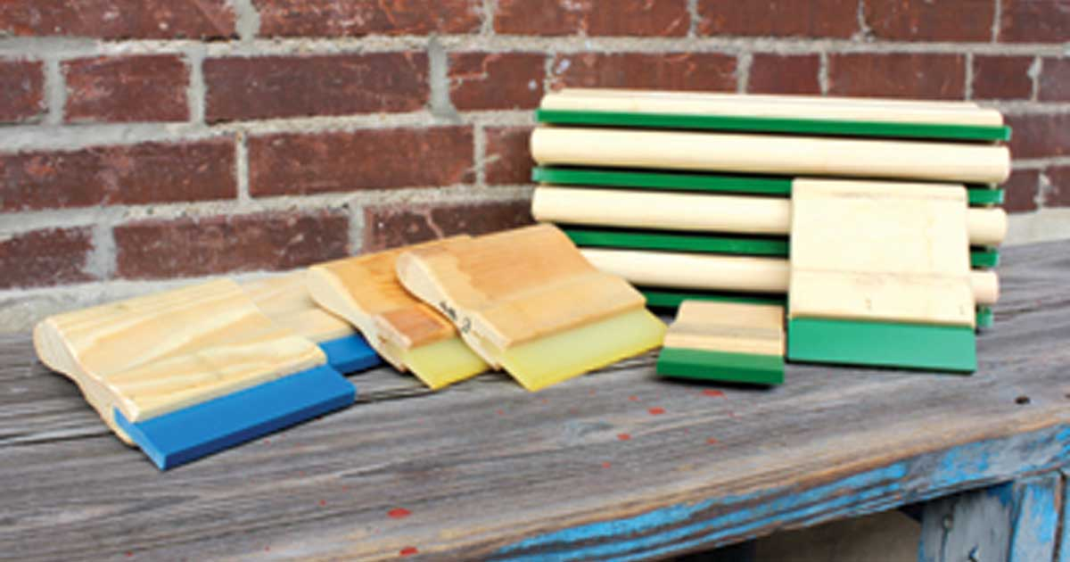 Choose Best Screen Print Squeegee
