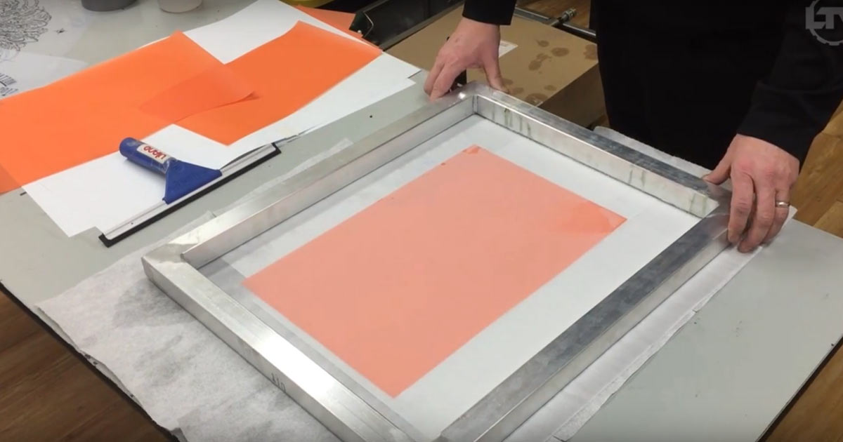 Screen Printing Film Demo