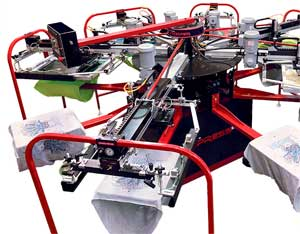 Express EX automatic screen printing press