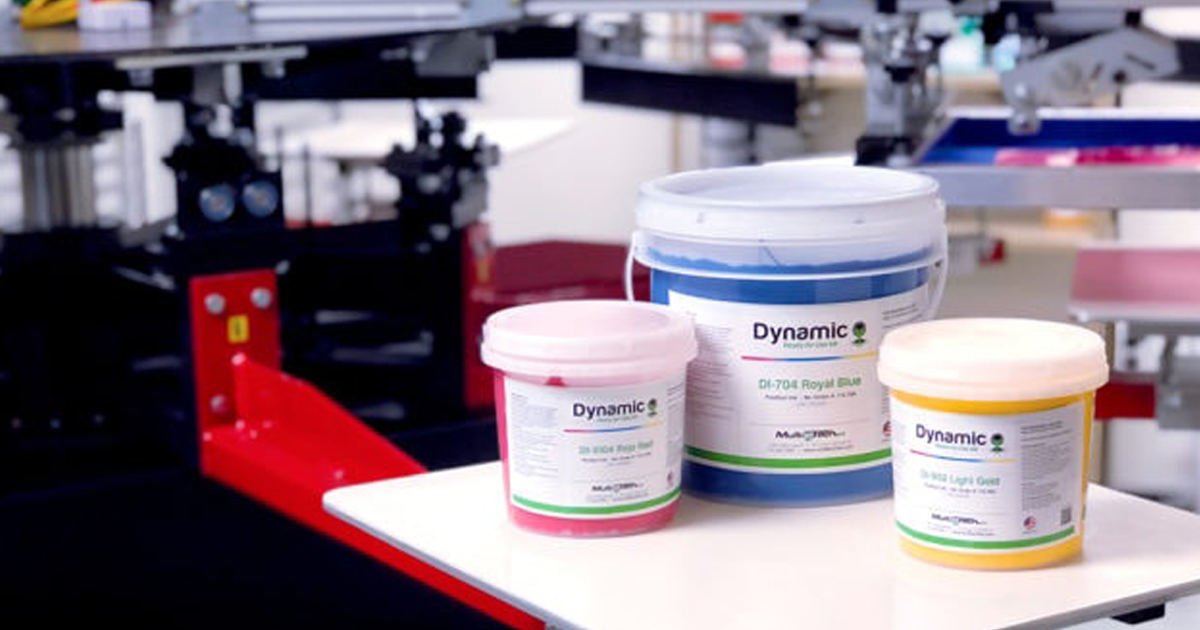 Dynamic Ink Plastisol Ink
