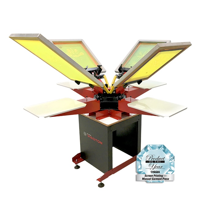 Floor Model Proton Screen Printing Press