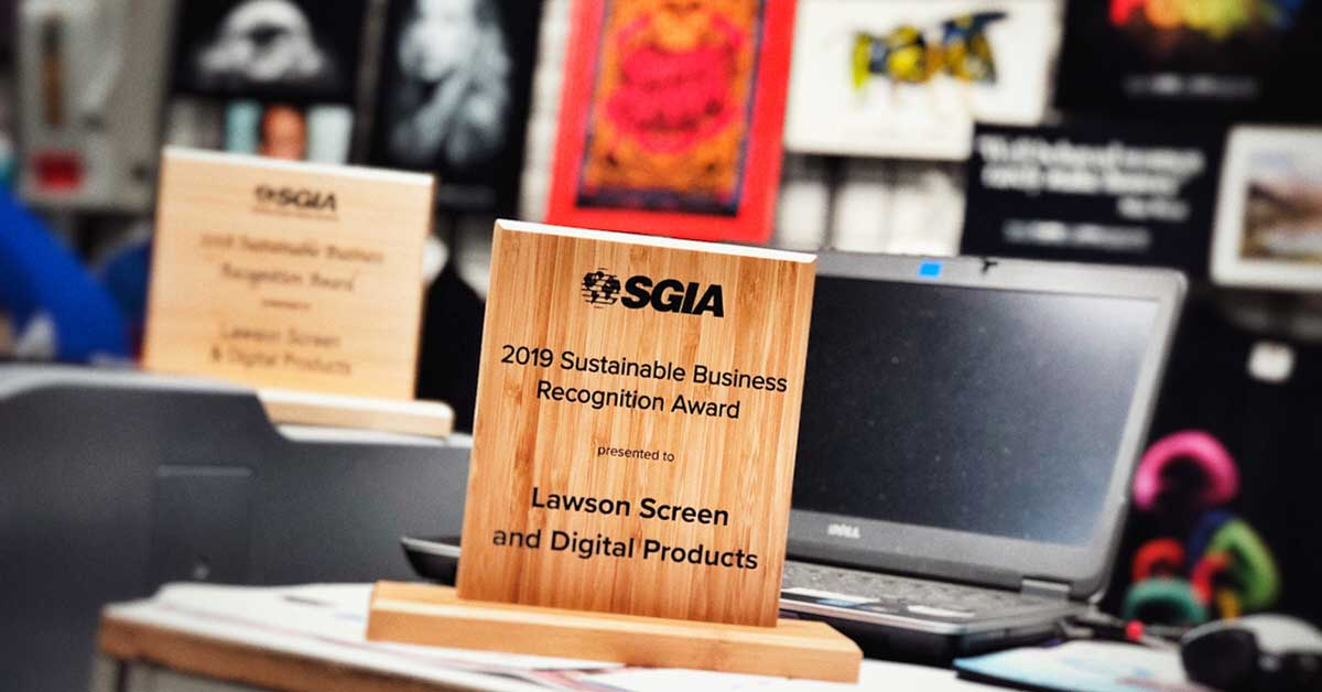 SGIA Sustainable Business Award19 Featured