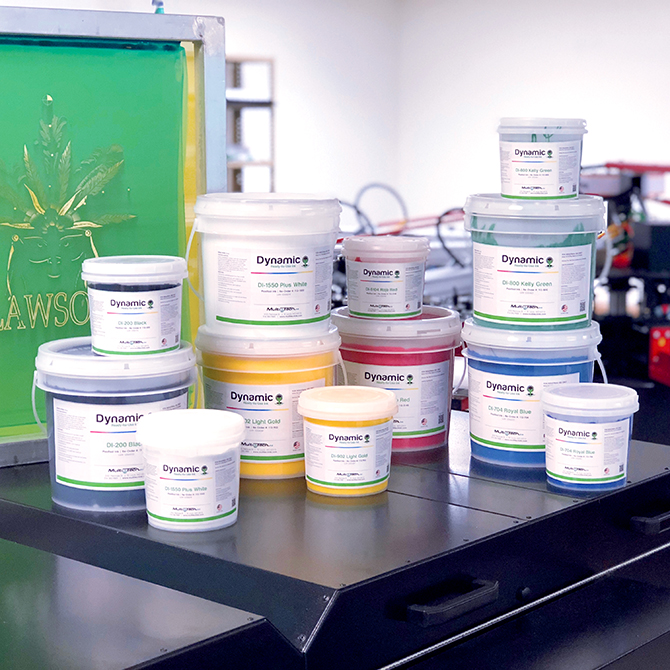 Dynamic Plastisol Ink Collection - Screen Printing Ink