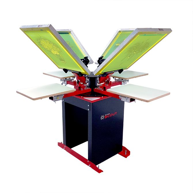 Scout Manual T-Shirt Press - Lawson Screen Products
