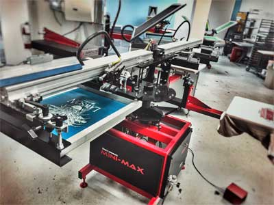 Lawson Mini-Max Automatic T-shirt Press