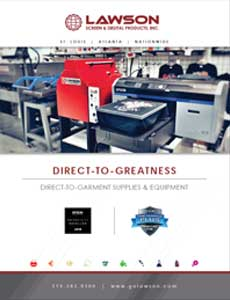Direct-To-Garment Printing Brochure - DTG printing