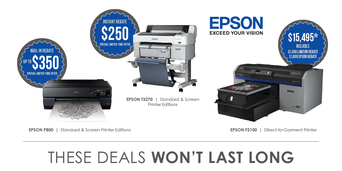 Epson Inkjet Printers | Film Positives | Sublimation Transfers