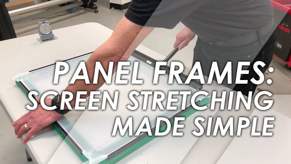 Screen Stretching Made Easy with the Panel Frame