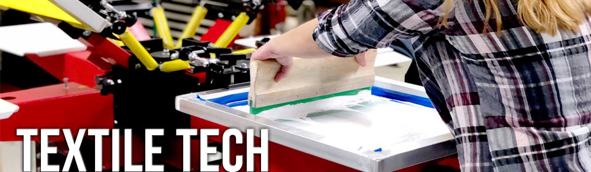 Textile Tech Screen Printing Class Cover
