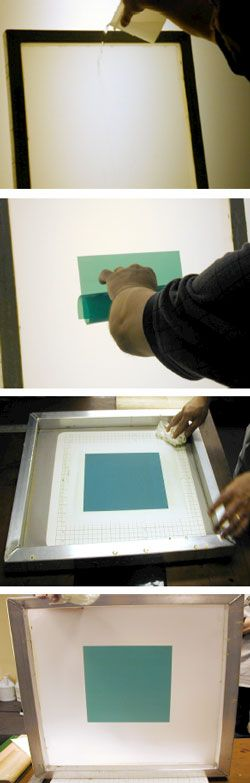Applying Capillary Film to the Screen