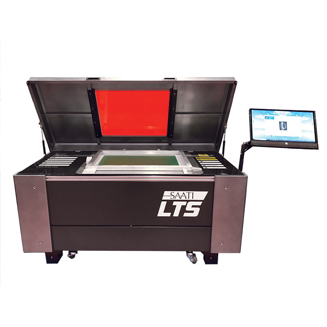 High Resolution Direct Laser Image & Exposure Unit