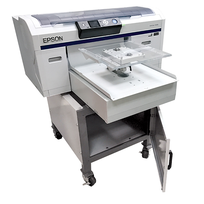 Epson DTG Printer with floor stand