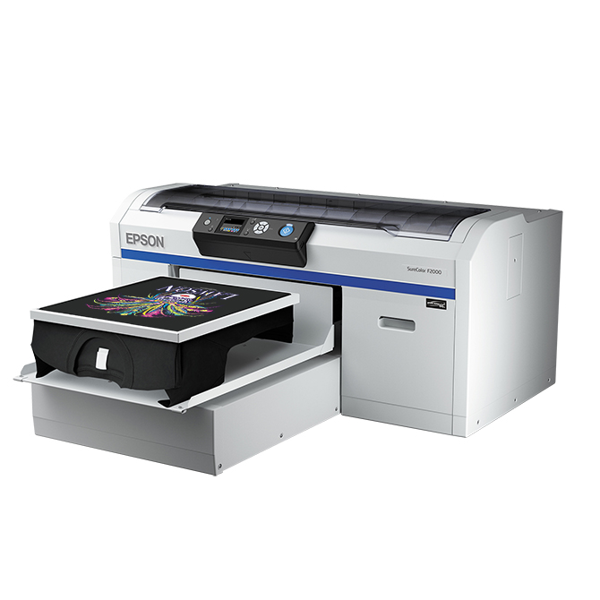 Epson SureColor F2000 Series Direct-To-Garment Inkjet Printers