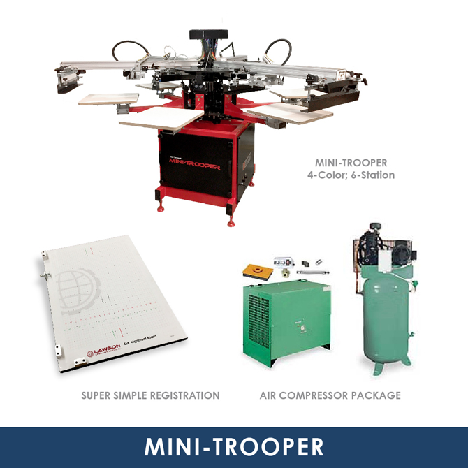 Mini-Trooper Screen Printing Startup Kit