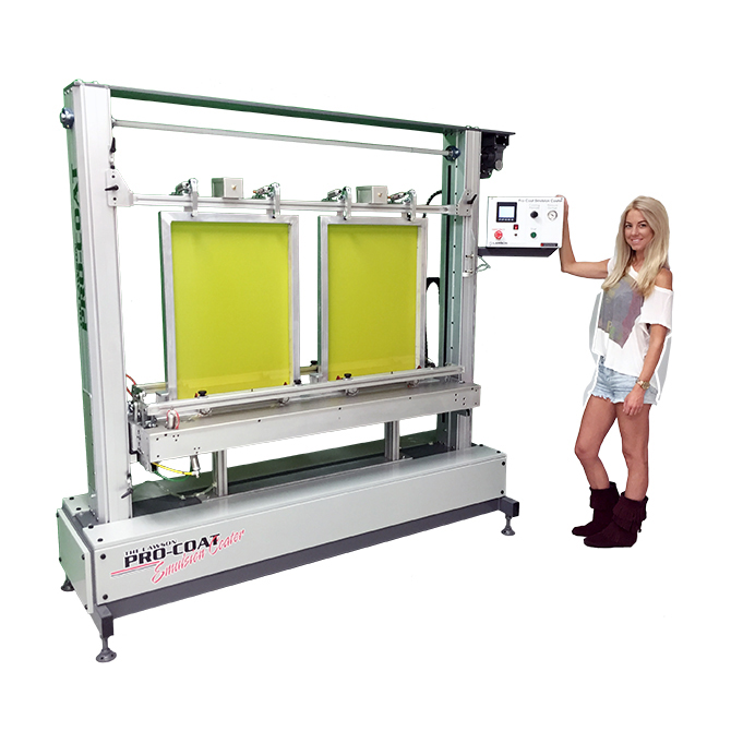 Pro-Coat Emulsion Coater - Screen Coating & Drying Machines