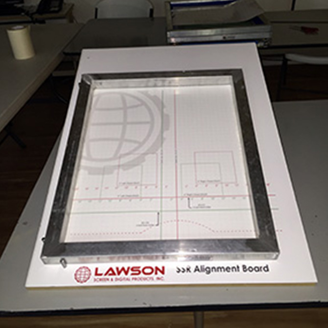 Lawson SSR - Screen Coating & Drying Machines