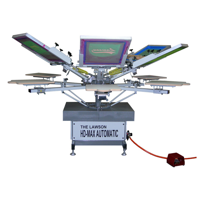 HD-MAX Automatic Textile Screen Printing Press
