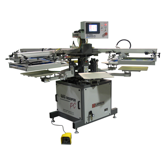 Trooper PC Automatic Screen Printing Press