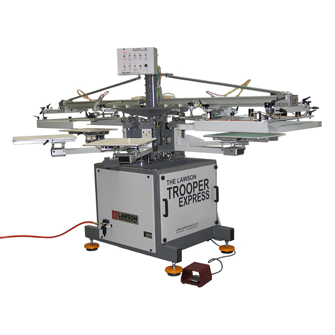 One Station Automatic Screen Printing Press