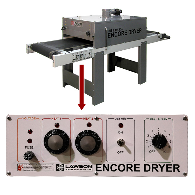 Encore 2408 Conveyor Dryer with Panel