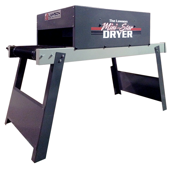 Mini-Star Conveyor Dryer #1805