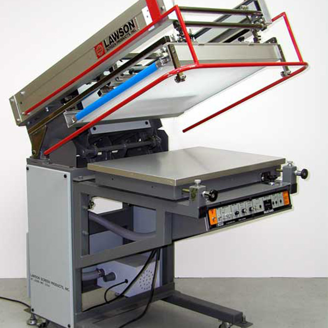 Automatic Screen Printing Press Flat Bed Screen Printing