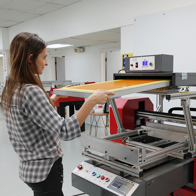 CTS Printer with LED-5000 Overhead - Loading a Screen
