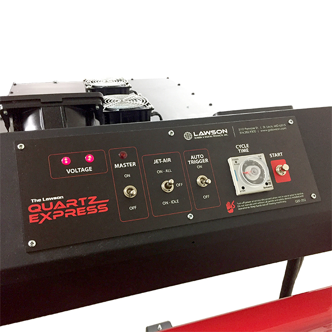 Quartz Express Flash Control Panel