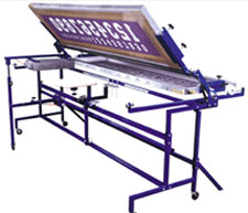 Athletic Numbering Screen Printing Machine - Textile Athletic Numbering Machine