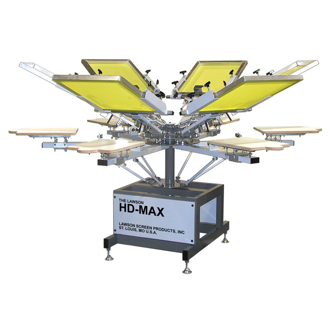 44 HD-MAX KIT & 4-COLOR, 4-STATION, MANUAL PRESS