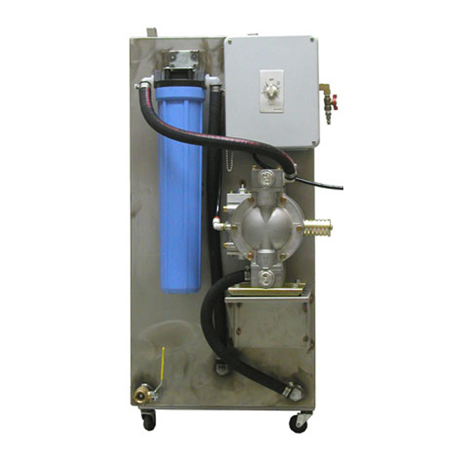 Side Profile of Automatic Jet Ink Cleaner