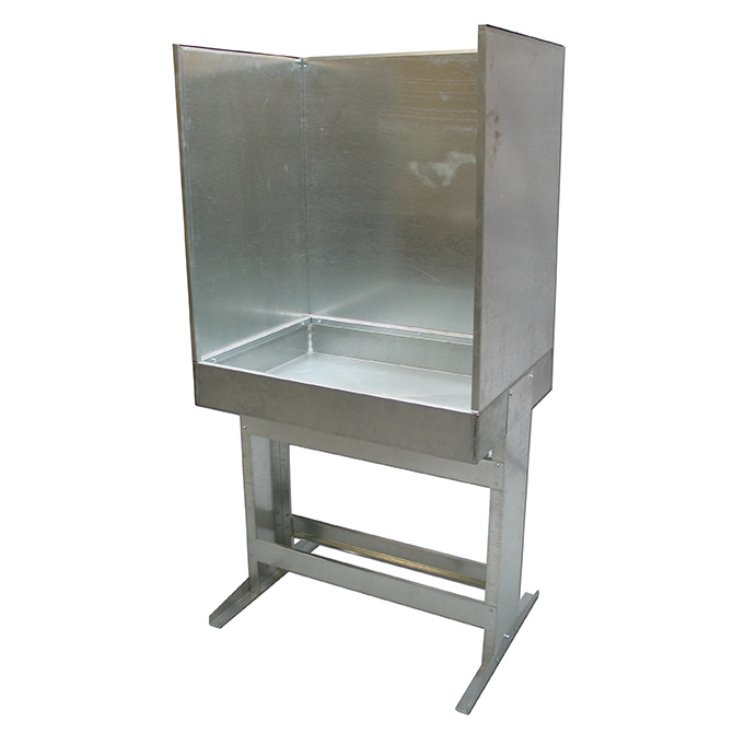 Galvanized Steel Washout Sink