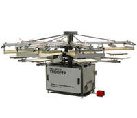 Trooper Automatic Screen Printing Press