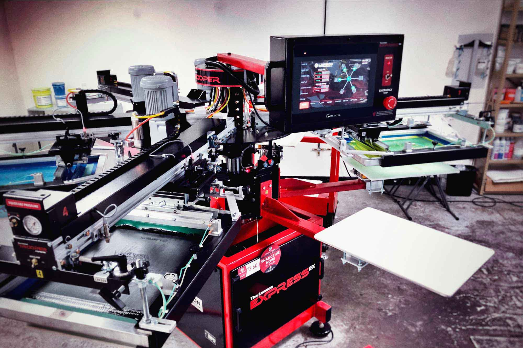 ExpressEX Screen Printing Press