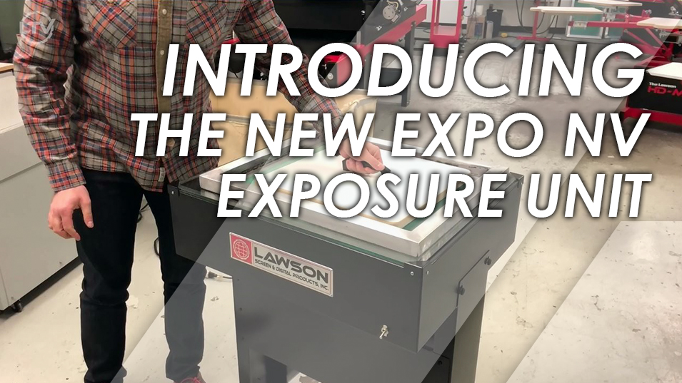 Expo NV Screen Printing Exposure Unit