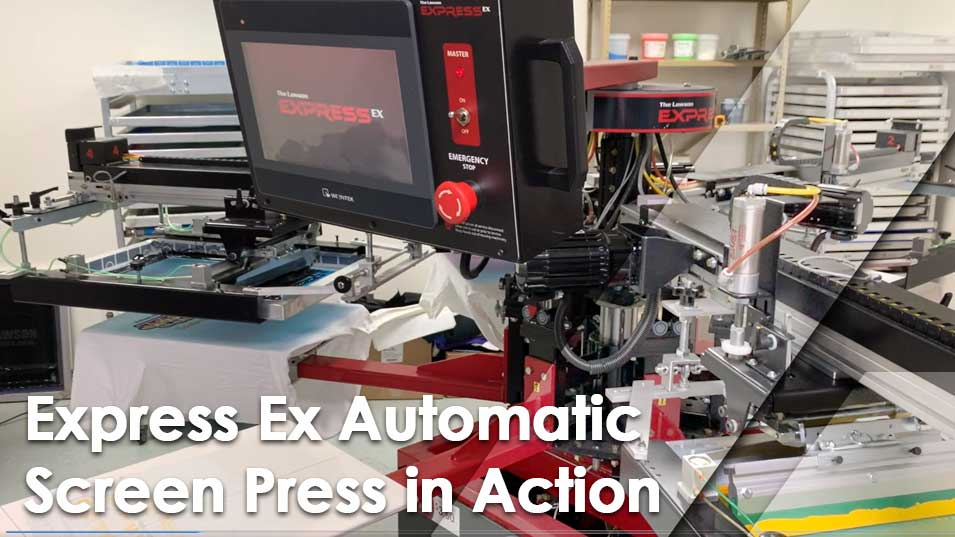 Express Ex Screen Press In Action