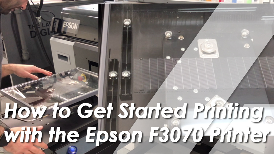 Get Started Printing with Epson F3070