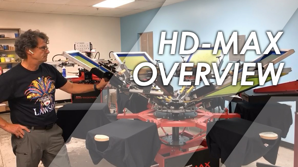 HD-Max Automatic Screen Printing Press