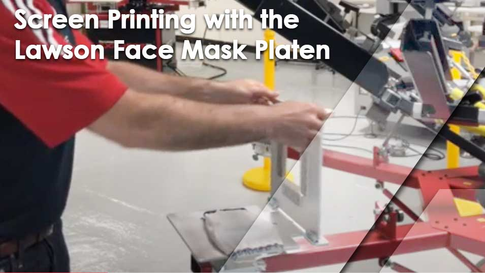 Screen Printing Face Mask Platen