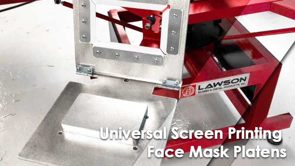 Universal Screen Printing Face Mask Platens Sizes