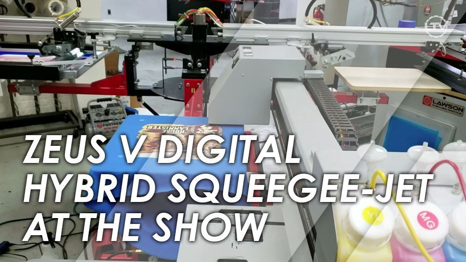 Zeus Digital Hybrid Squeegee-Jet and Mini-Max Demo