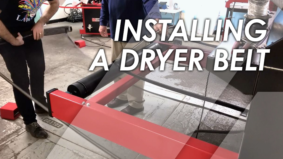 How to Install a Conveyor Dryer Belt