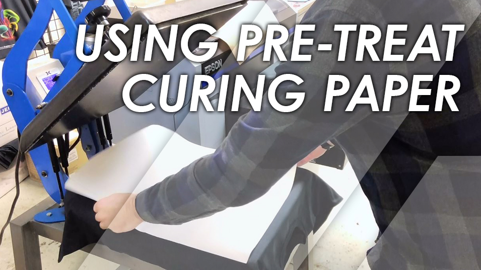 How To Use Pretreat Curing Paper