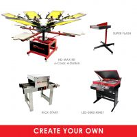 Custom Start-Up Screen Printing Package