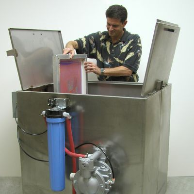 Screen Reclaim Automatic Jet Clean Dual Screen Washer